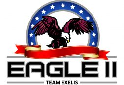 Eagle II Team Exelis Logo