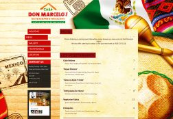 Don Marcelos Website