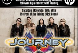 Email Marketing Event – Journey Concert