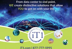 iT1 Trade Show Graphic